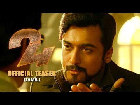 24 Tamil Movie Teaser Starring Surya, Samantha, & Nithya Menen