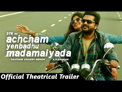 Achcham Yenbadhu Madamaiyada Tamil Movie Trailer Featuring AR Rahman, Gautham Menon, And Simbu